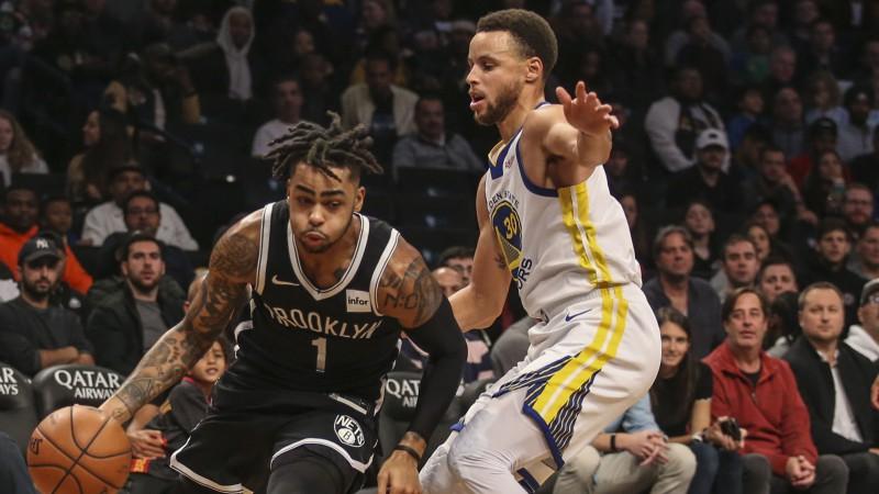 """Karijs un Durents pret """"Nets"""" divatā samet 69 punktus, """"Thunder"""" pirmā uzvara"""