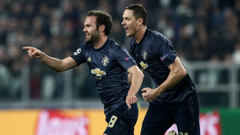 """Mančestras """"United"""" pārsteidzoši izrauj uzvaru Turīnā, """"Real"""" viegli pārspēj """"Plzen"""""""