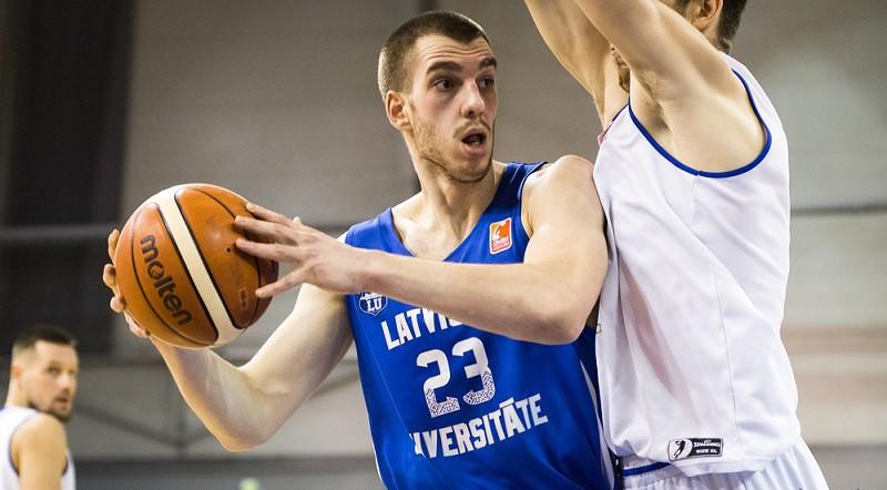 LU basketbolistiem Tartu nepietiek ar trim labām ceturtdaļām