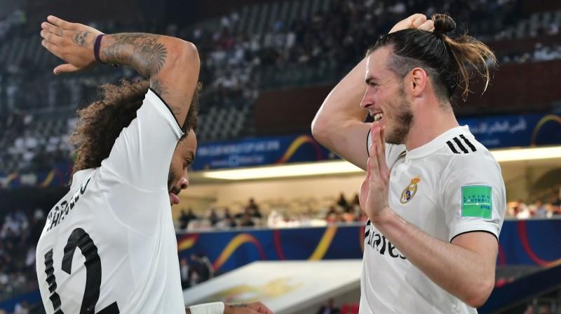 """Beils ar hat-trick ieved Madrides """"Real"""" Pasaules kausa finālā"""