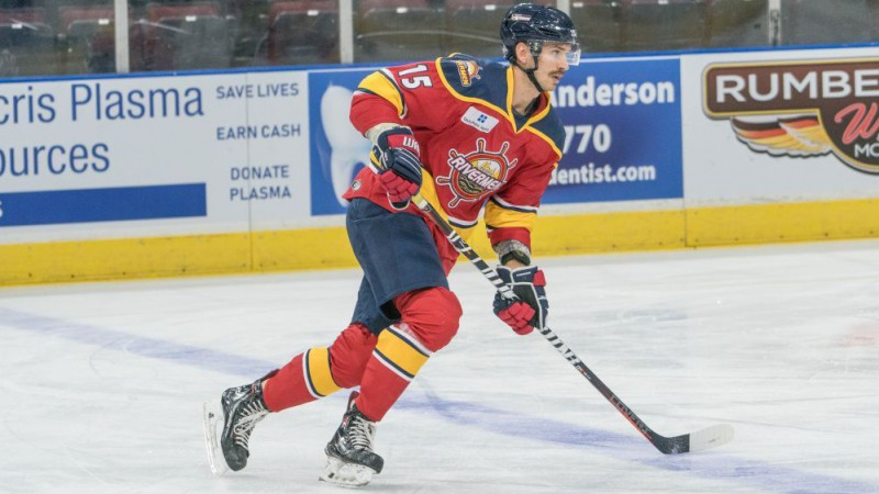 Aizsargs Grīnbergs iegūst iespēju pārbaudīt spēkus ECHL