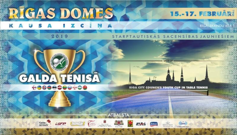Rīgā notiks starptautiskas sacensības galda tenisā jauniešiem