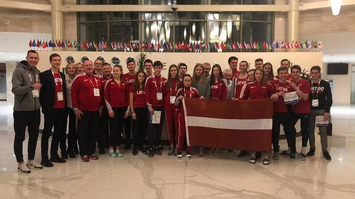 Latvijas U20 vieglatlētiem piektā vieta 11 valstu mačsacīkstē
