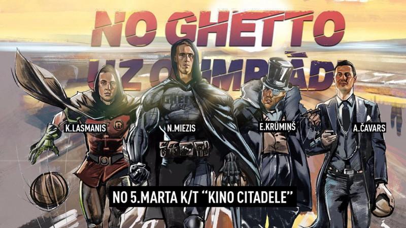 """""""Ghetto Games"""" filmas pirmizrādē 5. martā tikšanās ar 3x3 basketbola izlasi"""