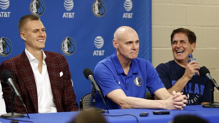 """Porziņģis drīz varētu sākt trenēties kopā ar """"Mavericks"""" komandu"""