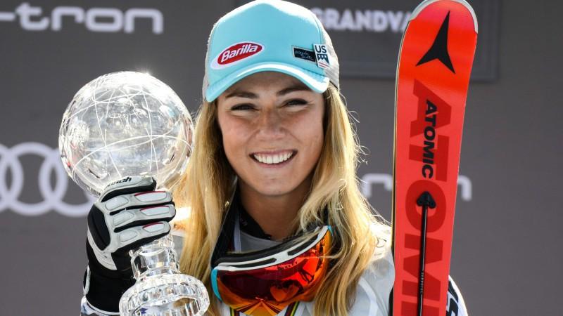 Šifrina uzreiz pēc 24. jubilejas kļūst par visu laiku titulētāko slaloma braucēju