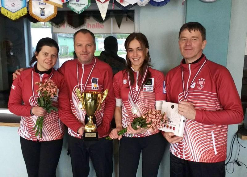 RKK/Rudzīte finālsērījā atspēlējas no 0:2 un izcīna Latvijas čempionu titulu