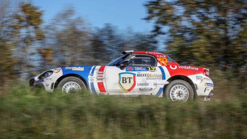 Reinis Nitišs ''Rally Liepāja'' startēs ar visai neierastu auto