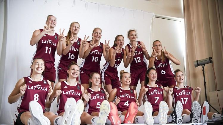 Starta diena Sarajevā: Latvijas U18 meitenes pret mājinieci Bosniju
