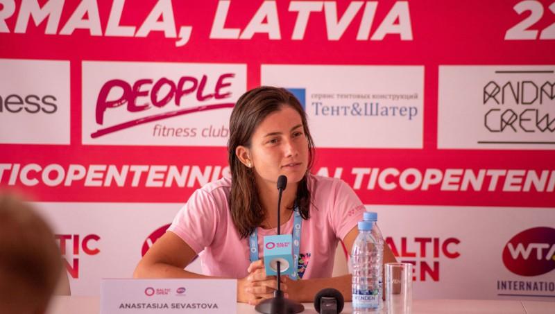Sevastova un Ostapenko vakarā sāks Jūrmalas WTA turnīru