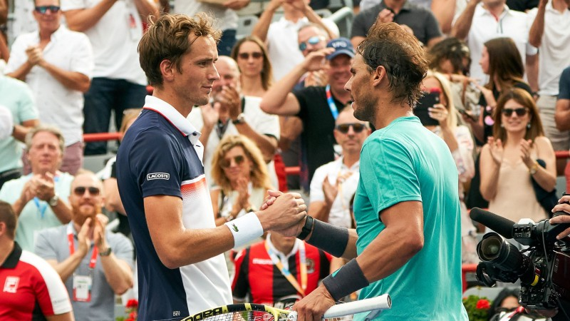 """Vasaras labāko spēlētāju duelis """"US Open"""" finālā: Medvedevs pret Nadalu"""