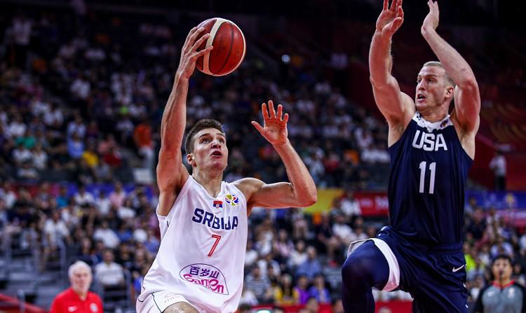 Bogdanovičs un Serbija sagādā ASV vēsturiski sliktāko turnīru