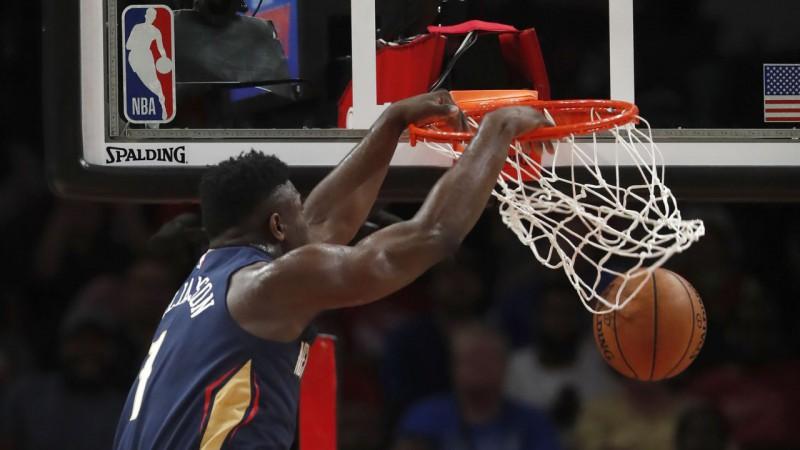 "Zaionam 29 punkti ""Pelicans"" uzvarā, Adetokunbo sāk ar ""double-double"""