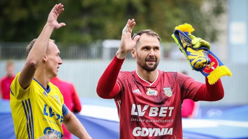 """Šteinbors palīdz """"Arka"""" cīnīties neizšķirti pret Polijas čempionāta līderi"""
