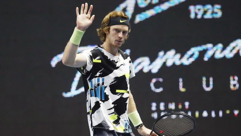 Rubļovs ar sezonas ceturto titulu atkārto Džokoviča sasniegumu