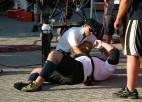 """Foto: Kazeļņiks """"World's Strongest Man"""": 1. diena"""