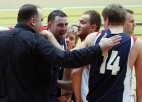 """Foto: """"DnB Nord bankas"""" basketbolisti pārsteidz un uzvar pagarinājumā"""