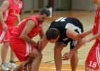 """Foto: """"SEB bankas"""" basketbolistiem ceturtā uzvara piecās spēlēs Banku kausā"""
