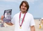 Pirmais Latvijas kaitborda čempions - Gatis Satiks