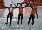 Ātrslidošana noslēdzas ar Nīderlandes olimpiskajiem rekordiem