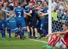 Islande dramatiski pārspēj Austriju un nodrošina sev 1/8 finālu