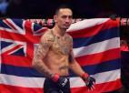 Porjē un Holovejs cīnīsies par pagaidu UFC titulu vieglajā svarā