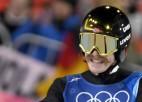 Norvēģija pirmoreiz triumfē tramplīnlēkšanas komandu sacensībās