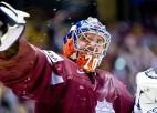 Video: Latvijas hokeja izlase paņem punktu no Kanādas