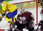 Sīvā cīņā Latvija piekāpjas Zviedrijai un čempionātu noslēdz astotajā vietā