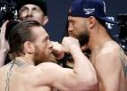 Makgregors atgriešanās cīņā eksaminēs UFC rekordistu Seroni