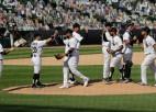 """""""White Sox"""" veic piecus """"Home run"""" un revanšējas """"Twins"""""""