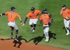 """Astros"", ""Rays"" un ""Yankees"" pārvar MLB <i>playoff</i> pirmo kārtu"