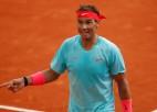 "Māla karalis Nadals 13. reizi spēlēs ""French Open"" finālā"
