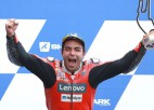 Devītajā ''MotoGP'' posmā Francijā uzvar Petruči
