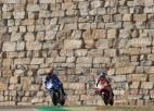 """Rinss uzvar """"MotoGP"""" Aragonas posmā, otrais sensacionāli Markesa jaunākais brālis"""