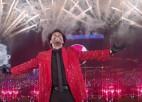 """Video: """"Super Bowl"""" puslaika pārtraukumā """"The Weeknd"""" demonstrē iespaidīgu šovu"""