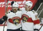 """""""Panthers"""" iemet četrus vārtus desmit minūtēs, """"Oilers"""" revanšējas Albertas derbijā"""