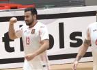 Video: Latvijas telpu futbola izlasei neizdodas apturēt Spānijas uzbrukumus