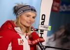 PK posmos slalomā trijniekā tikusī Bernadete Šīlda beidz karjeru