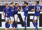 """""""Schalke"""" izcīna otro uzvaru sezonā, Tolu nāk uz maiņu Ķelnes izlaistā uzvarā"""