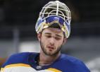 """""""Sabres"""" vārtsargs Tokarskis tiek atzīts par NHL nedēļas pirmo zvaigzni"""