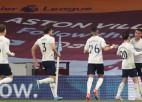 """""""Aston Villa"""" iesit 20. sekundē, tomēr """"City"""" uzvar, Sons izrauj panākumu Totenhemai"""