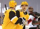 """Bļugeram un """"Penguins"""" agrā spēle pret ērto """"Devils"""""""