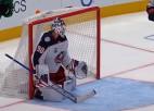 Video: Merzļikins iekļūst NHL jocīgākajos momentos