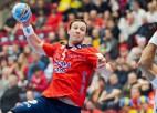 Norvēģijas handbola izlase pret Latviju - labākajā sastāvā