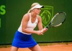 Marcinkeviča un Vismane sasniedz ceturtdaļfinālus ITF turnīros
