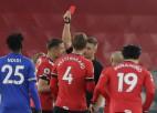''Leicester'' 80 minūtes spēlē vairākumā, taču nespēj pieveikt ''Southampton''