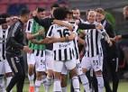 """Ronaldu nespēlē, """"Juventus"""" grauj un izcīna vietu nākamās sezonas ČL turnīrā"""