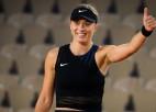 """Badosa un Zidanšeka Parīzē pirmoreiz spēlēs """"Grand Slam"""" ceturtdaļfinālā"""