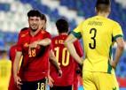 Spānijas U21 izlase sarauj gabalos Lietuvu, Benzemā trauma Francijas uzvarā